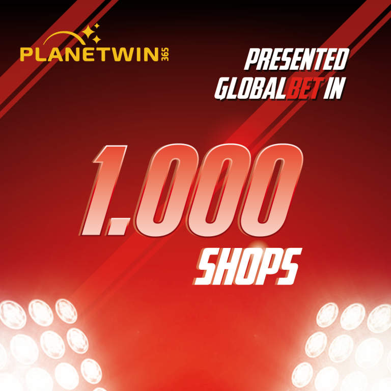 GlobalBet is Presented in 1000 Planetwin365's Shops in Italy